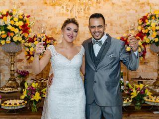 O casamento de Mikaelly e Gilvane