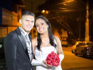 O casamento de Viviane e Elvis