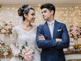 O casamento de Monica e Ruston