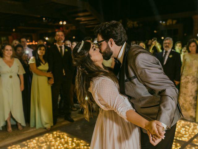 O casamento de Monique e Abdon