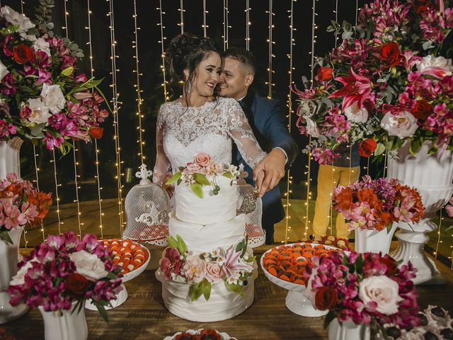 O casamento de Aline e Thiago