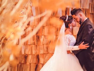 O casamento de Rafaele e Jonathan
