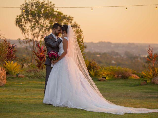 O casamento de Evelyn e Wesley