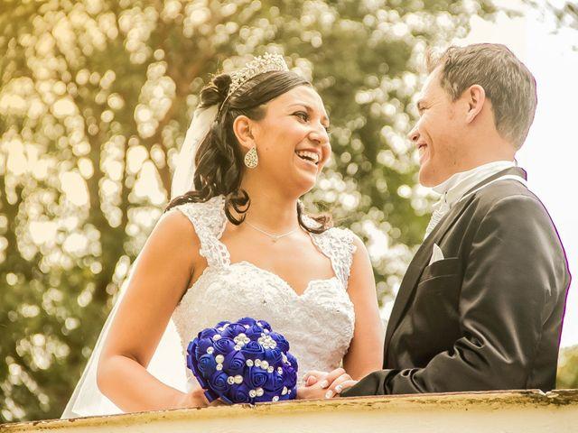 O casamento de Evelin e Elisandro