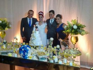 O casamento de Evelyn e Heitor