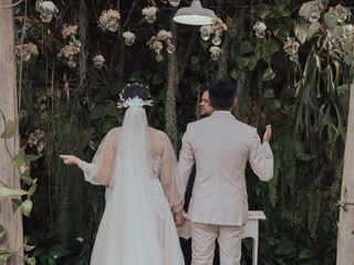 O casamento de Larissa e Fabriny