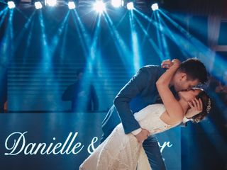 O casamento de Danielle e Junior