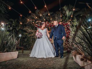 O casamento de Camila e Thiago