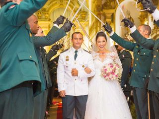 O casamento de Monique e Junior
