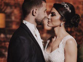 O casamento de Valéria e Junior