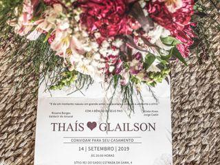 O casamento de Thais e Glailson 1