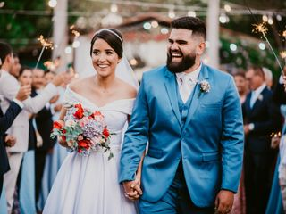 O casamento de Bárbara e Vitor