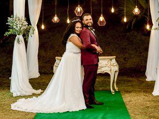 O casamento de Giselle e Gustavo