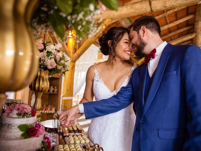 O casamento de Ester e Gabriel