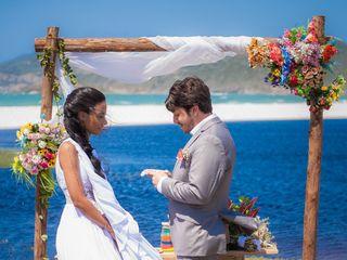 O casamento de Camila e Gabriel