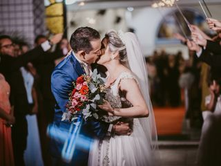 O casamento de Janaina e George