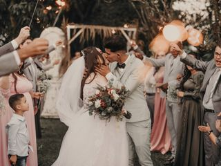 O casamento de Ellen e Natã
