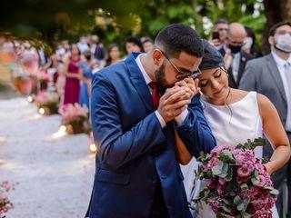 O casamento de Hugo e Isabelle