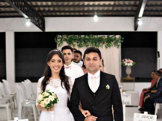 O casamento de Tainá e Laylson