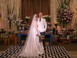 O casamento de Monique e Rubens