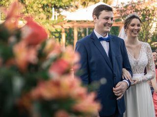 O casamento de Elisa e Roger