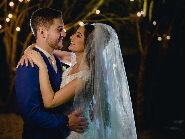 O casamento de Loriane e Gustavo
