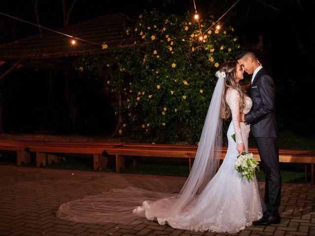 O casamento de Alexsandra e Marcos