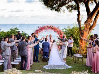 O casamento de Monique e Janailson