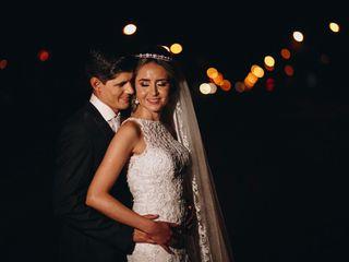 O casamento de Monique e Luiz