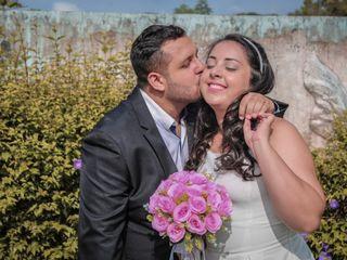 O casamento de Tatiane e Wilhan