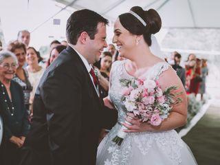 O casamento de Tatiane e Renato