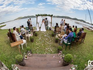 O casamento de Ana e Sid