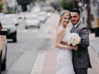 O casamento de Bianca e Rogerio
