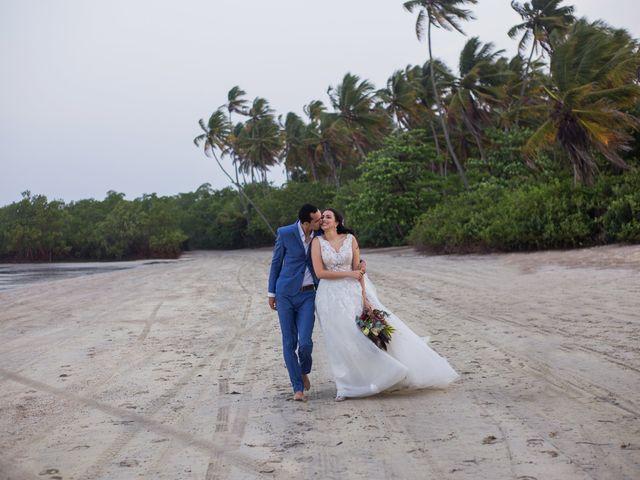 O casamento de Marcílio e Bianca
