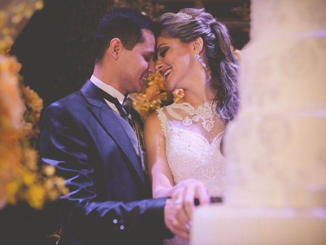 O casamento de Francine e Diego
