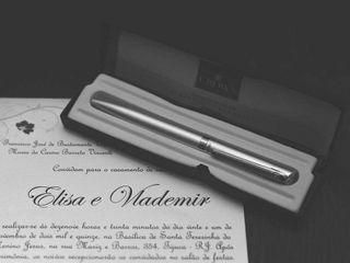 O casamento de Elisa e Vlademir  1