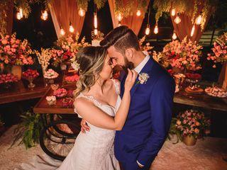 O casamento de Udson e Evellyn