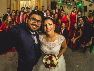 O casamento de Leandro  e Stheffanny