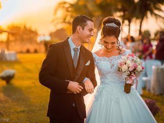 O casamento de Alana e Gabriel