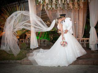 O casamento de Fabrícia e Erick