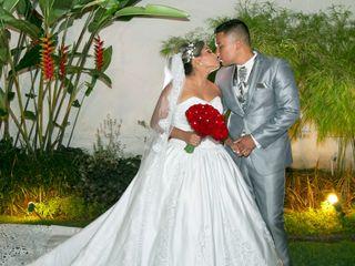 O casamento de Evelyn e Ramon
