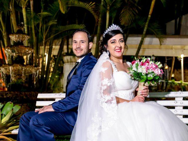 O casamento de Bianca e Fagner