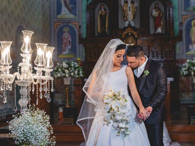 O casamento de Aline e Edinaldo