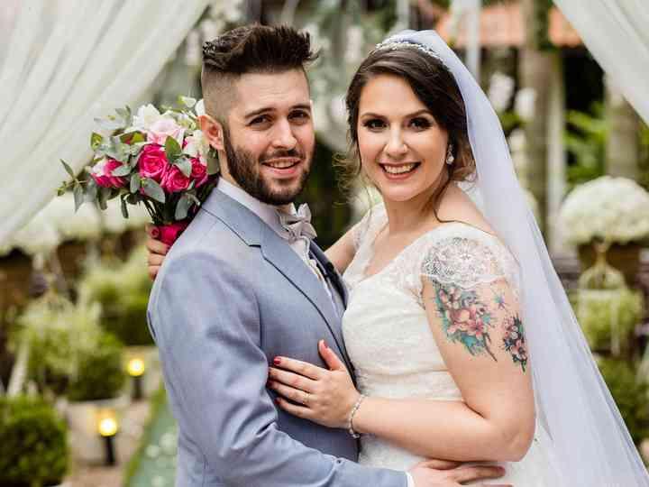 O casamento de Guayra e Caik