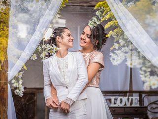 O casamento de Aline e Carol