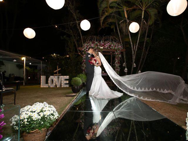 O casamento de Savia e Edgard
