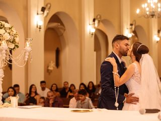 O casamento de Camila e Wellington