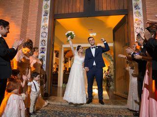 O casamento de Evelyn e Iury