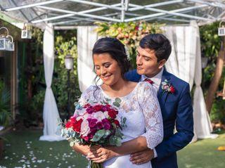 O casamento de Sabrina e Cayyan