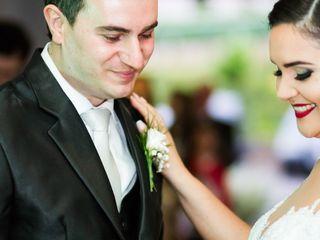 O casamento de Viviane e Anderson